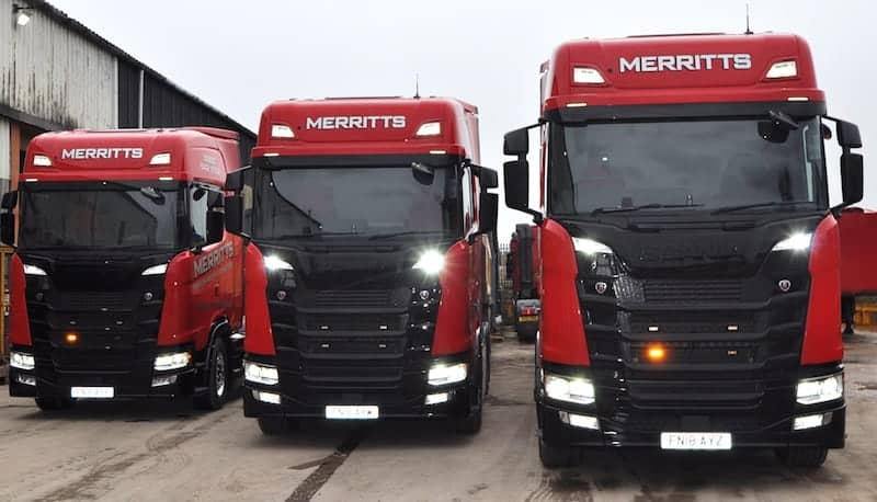 Merritts Invest £1 4m In Heavy Machinery Transport Equipment