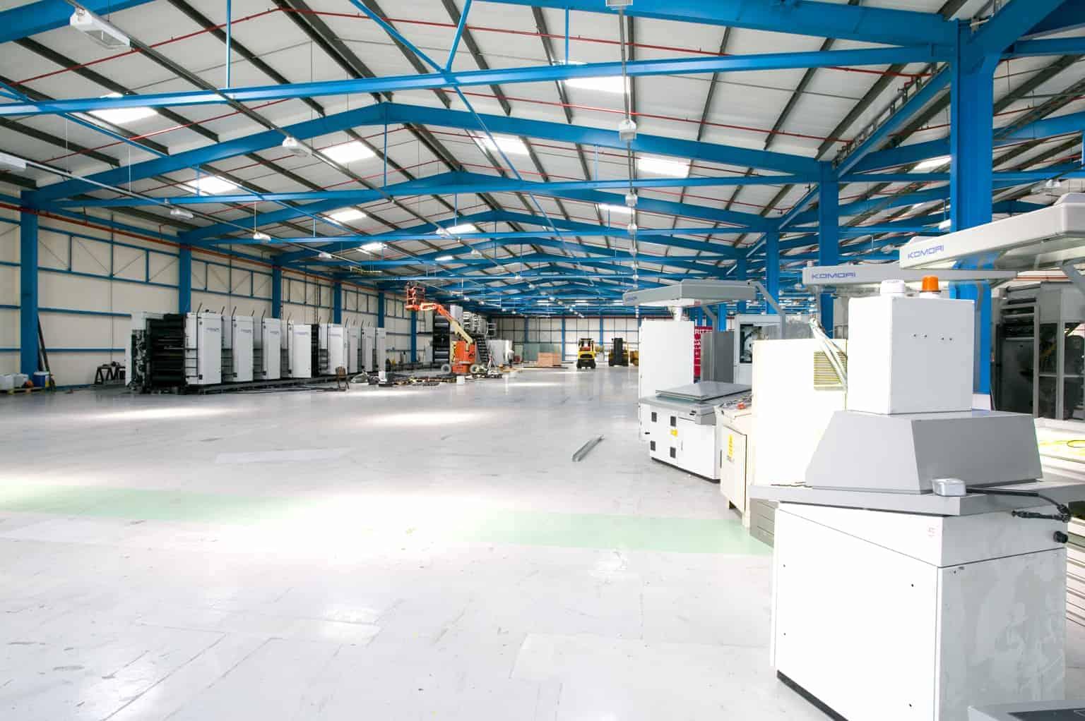 Heavy Machinery Refurbishment Space