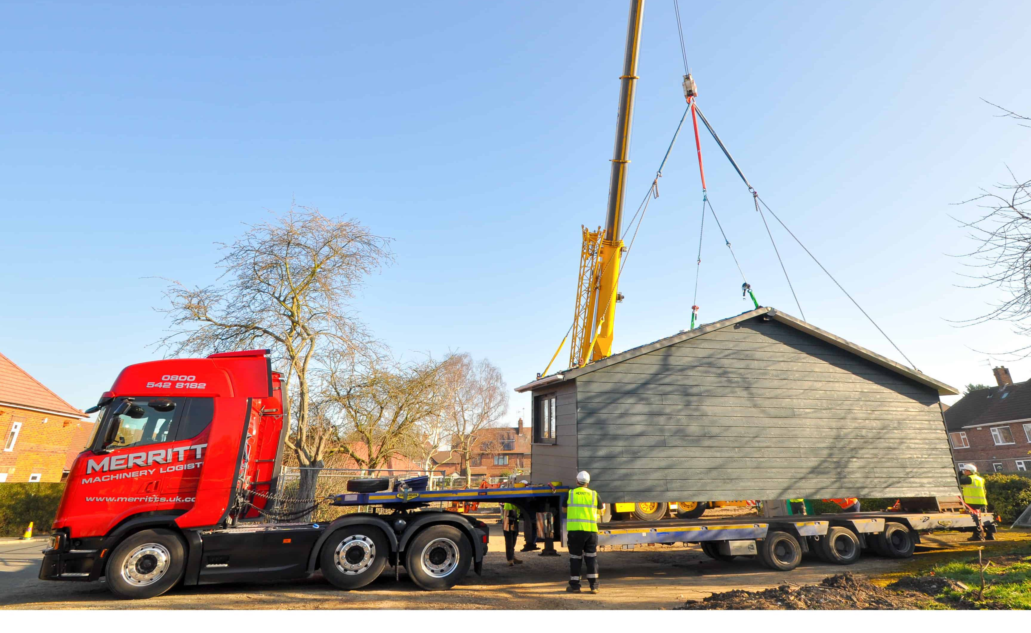 Merritts Specialist Lifting and haulage