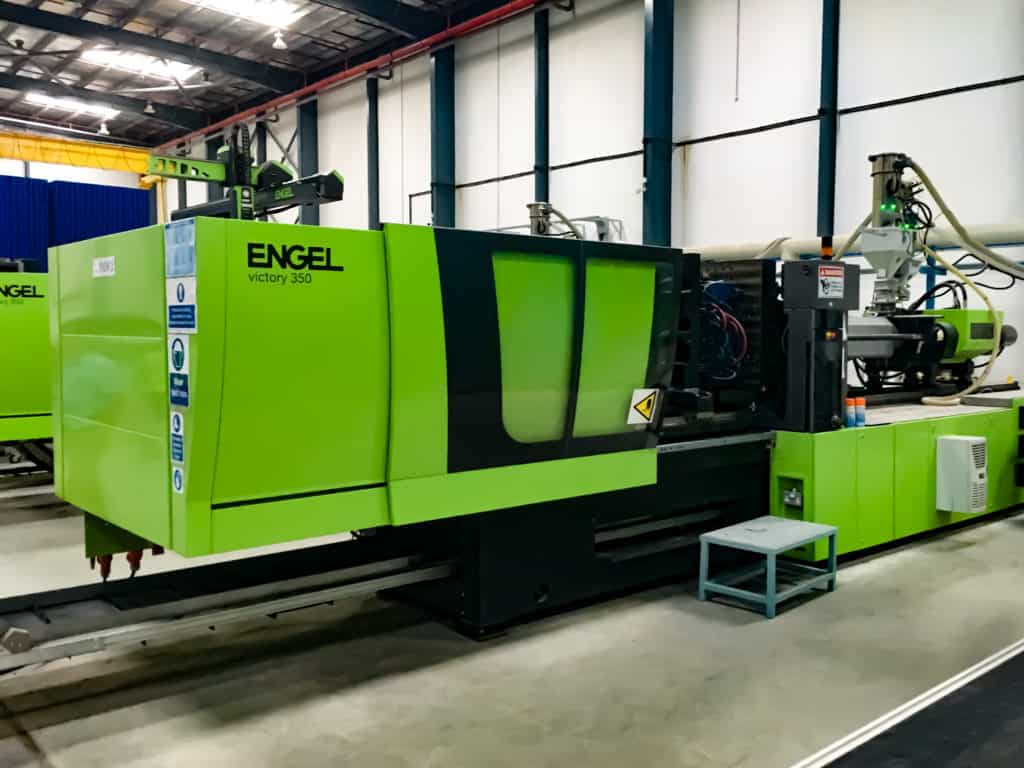 Relocation of Injection Moulding Machinery
