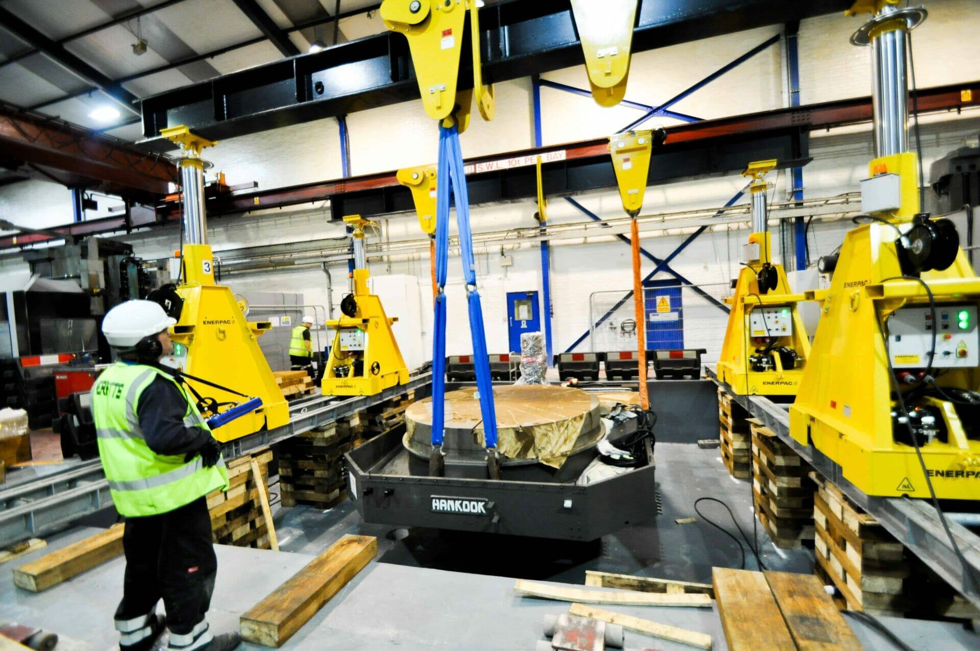 Merritts Heavy Machinery Movers
