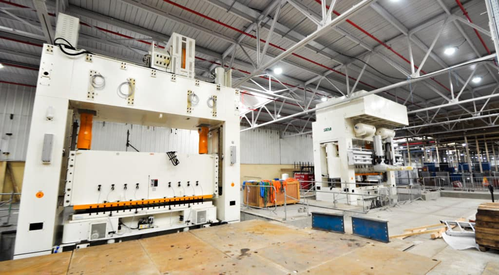 Installation of SEYI Presses