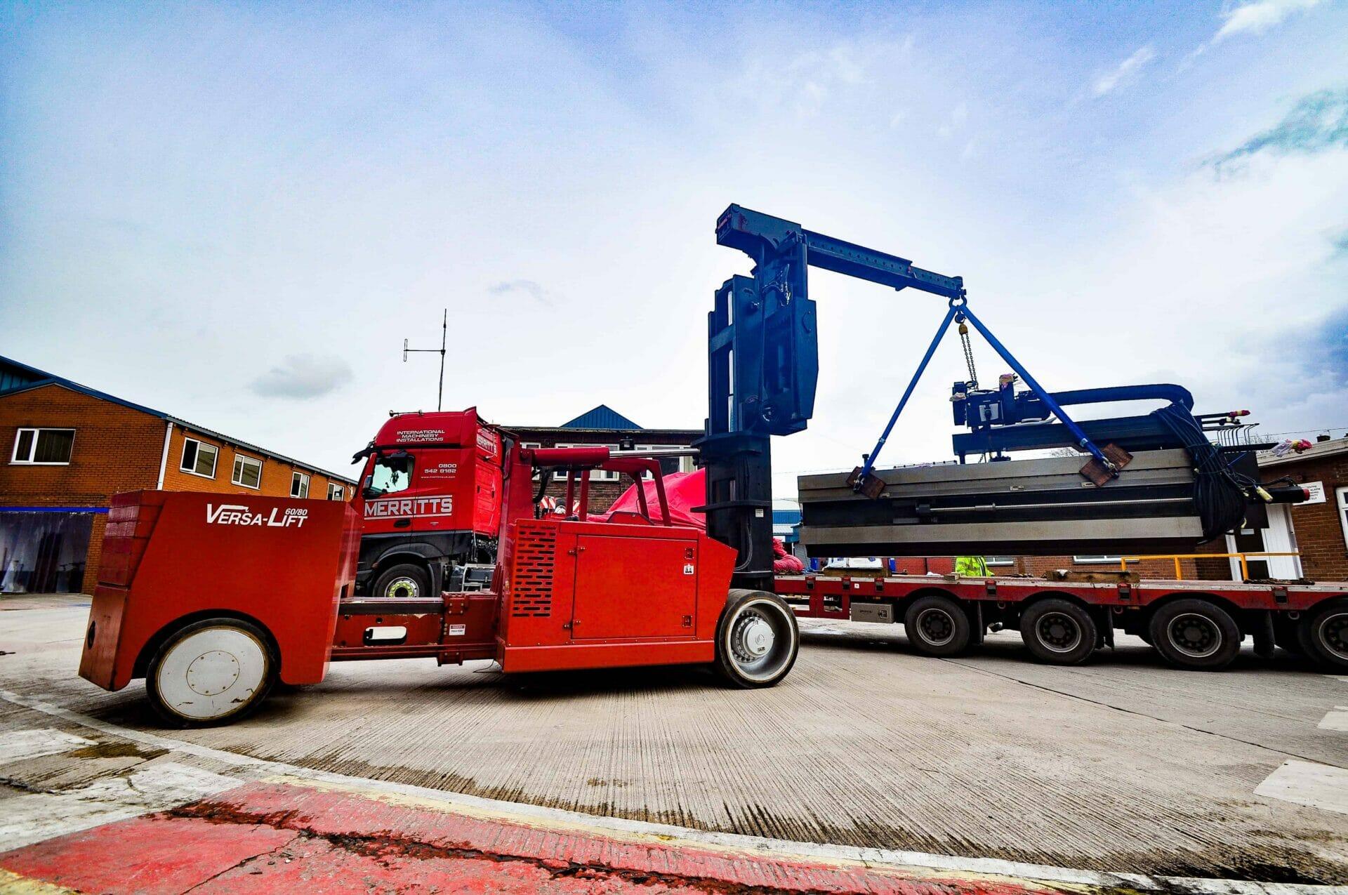 versa-lift trucks | heavy machinery moving