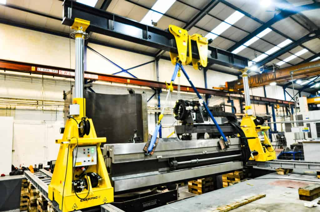 Hydraulic Jacking Systems | Merritts Heavy Machinery Moving