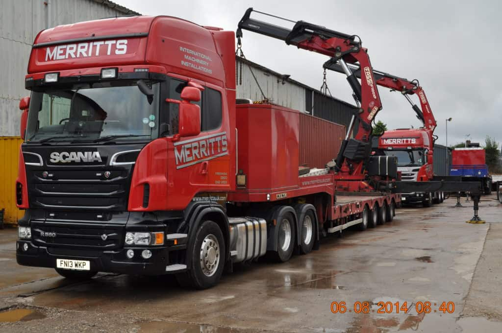 Heavy Machinery Movers | Merritts Top Tips