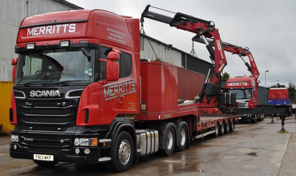 Heavy Machinery Movers   Merritts Top Tips
