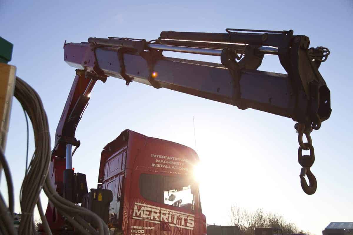 Out of Hours Solutions   Heavy Machinery Moving Projects
