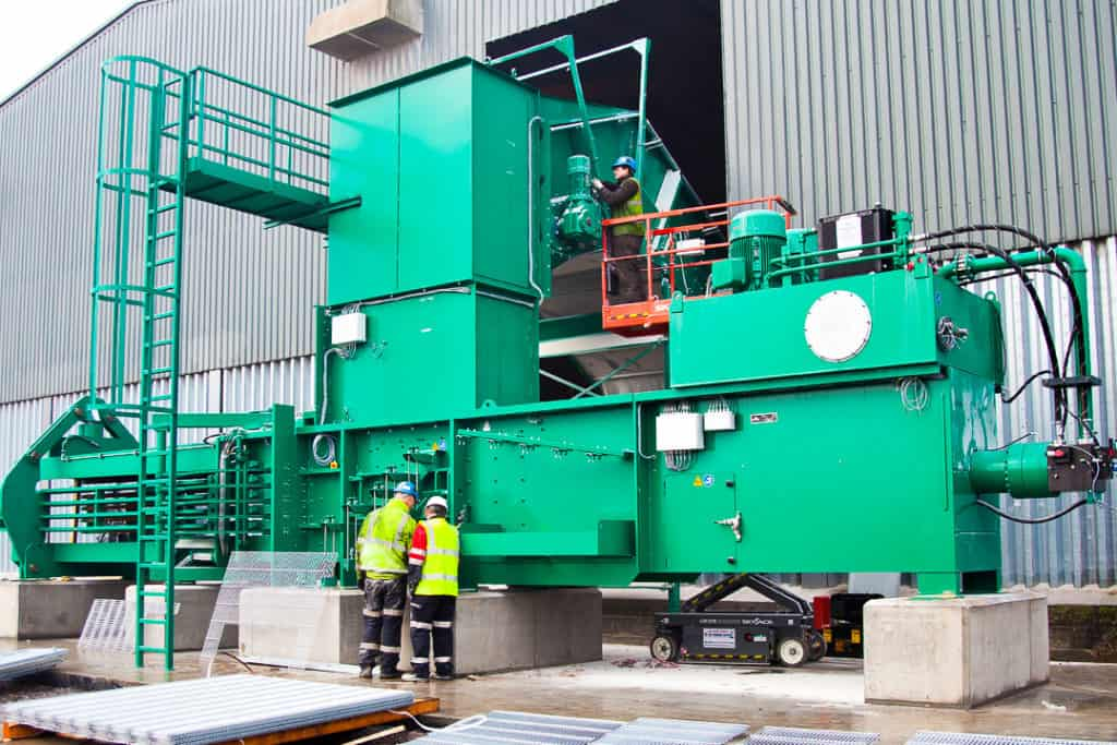 Waste and Recycling Machinery Movers
