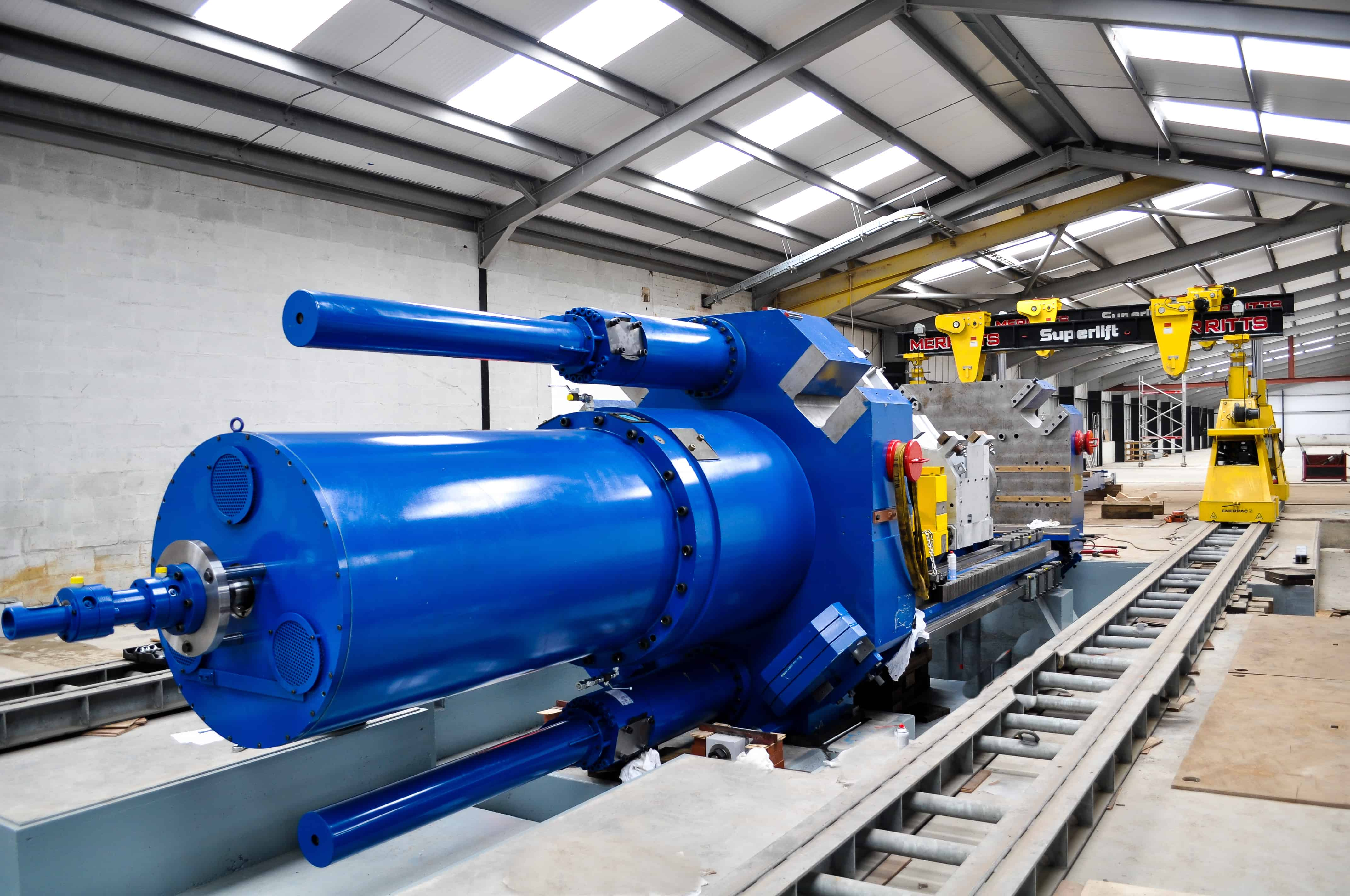 Polymer Processing Plant Installation