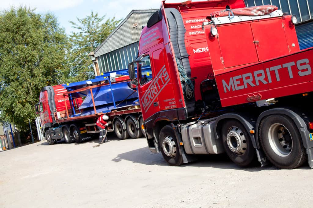 Hazards to consider when moving heavy machinery | Merritts