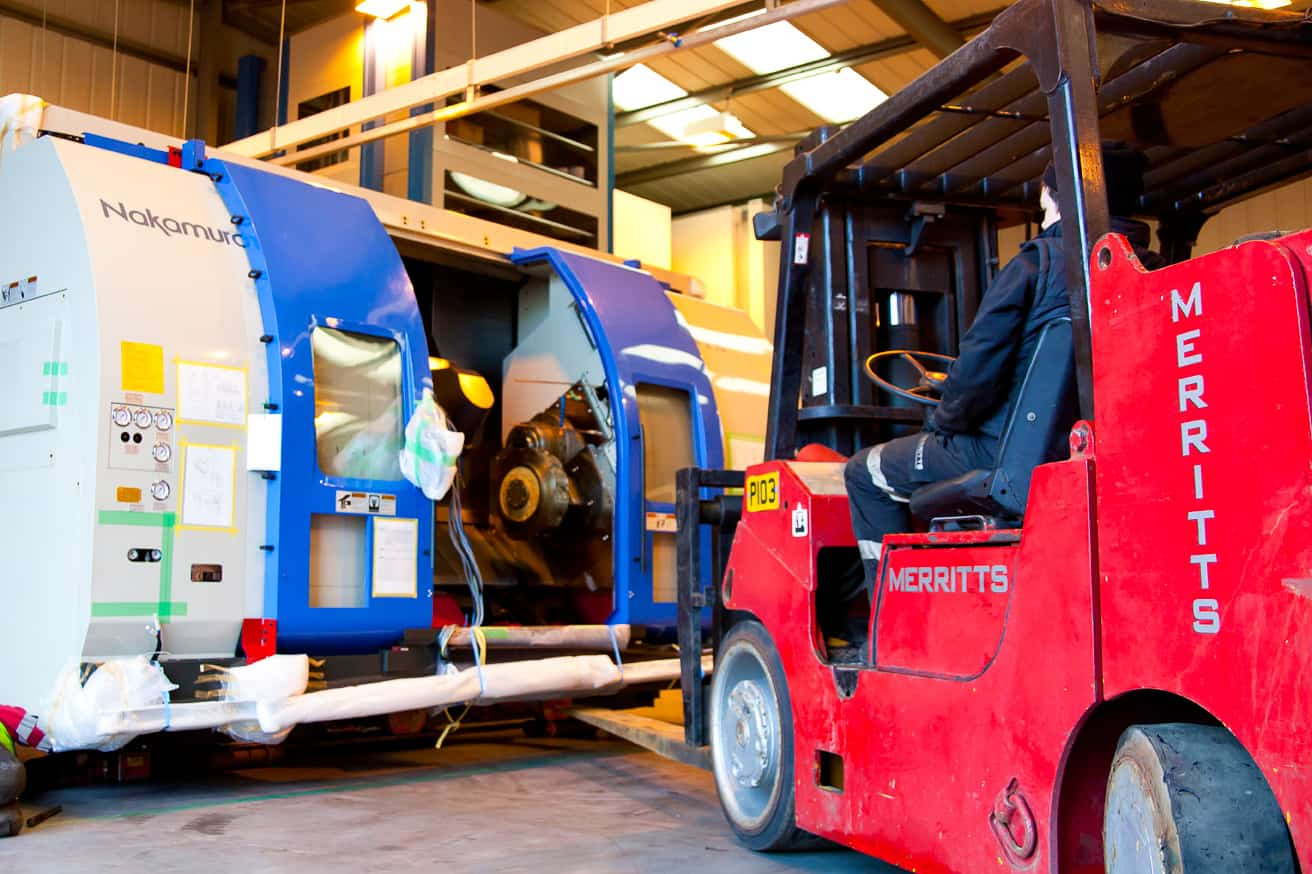 Forklift Trucks | Merritts Heavy Machinery Movers