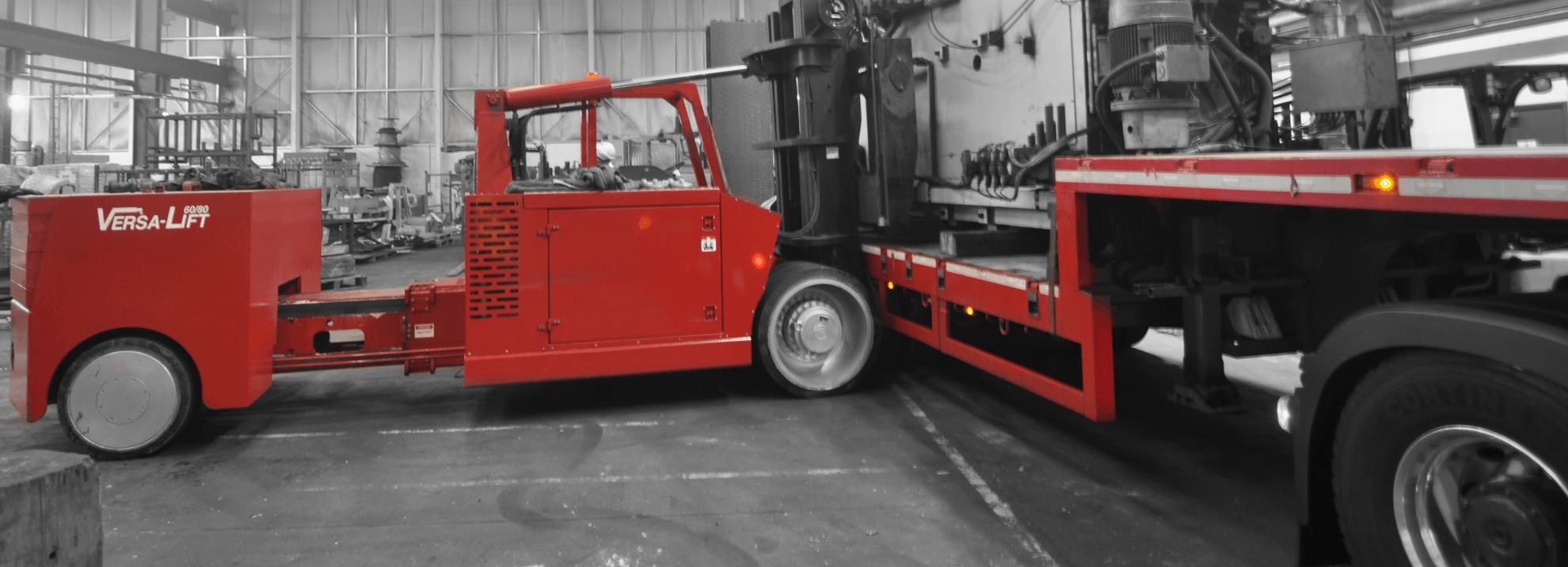 LPG or Battery Powered Versa-Lift Truck