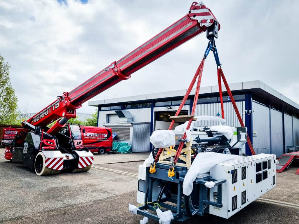 Machinery Moving Specialists for the Plastics & Rubber Sector