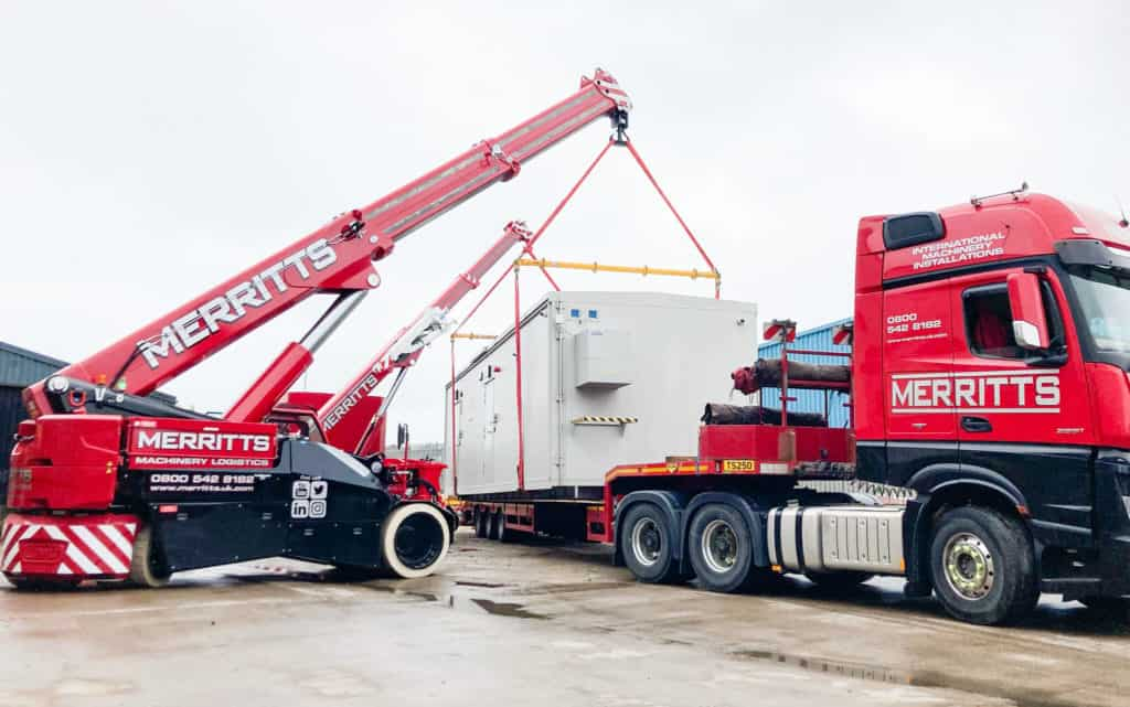 Machinery Movers - Heavy lifting